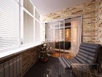 ремонт, отделка балкона в Яровое