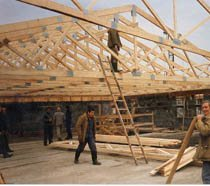 Строительство крыш в Яровое и пригороде, строительство крыш под ключ г.Яровое